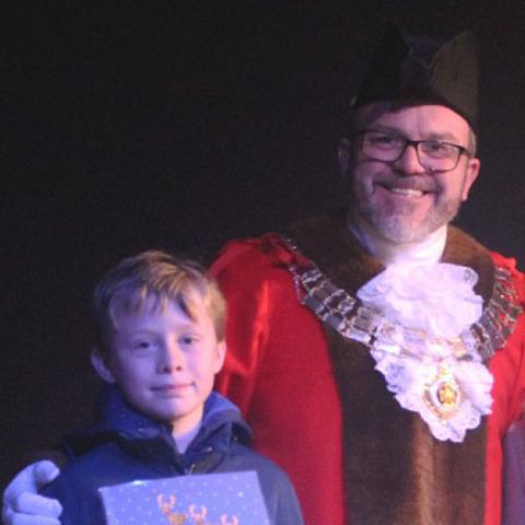 Mayor and Joshua