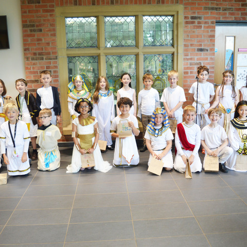 CRackley Hall Junior 3's Ancient Egyptian Day