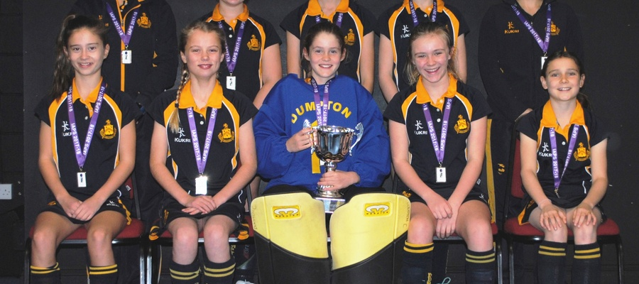 Dumpton School U12 Hockey Champions NOV17