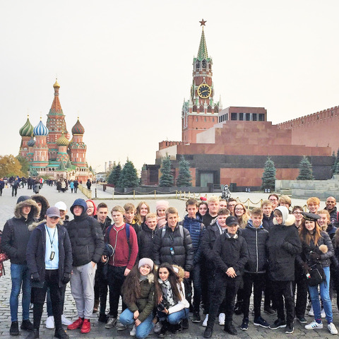 Princethorpe College Russia Red Square