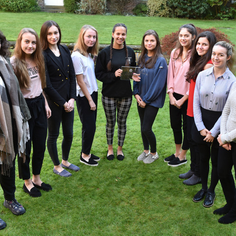 NCS Champion School Awarded to Talbot Heath