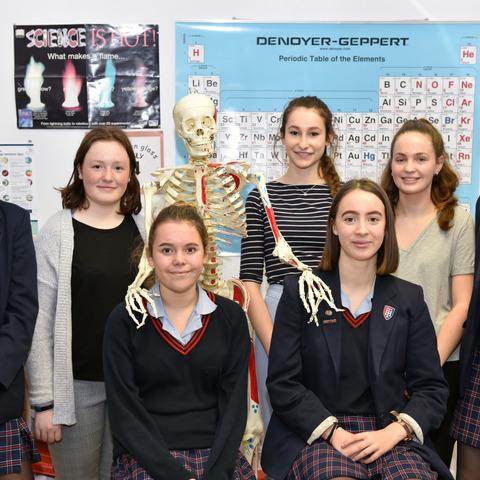 Future medics at Talbot Heath