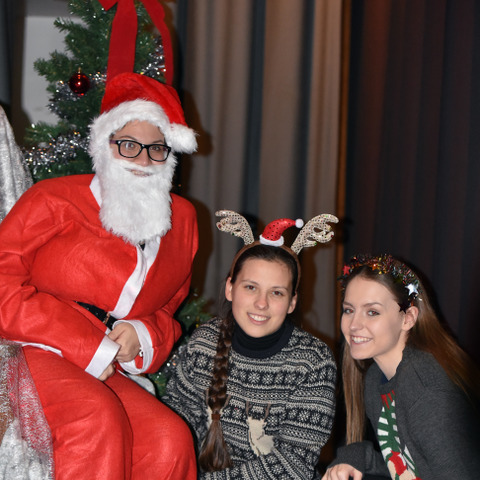 Sixth Form Santa's Grotto proved popular at PSS Fair