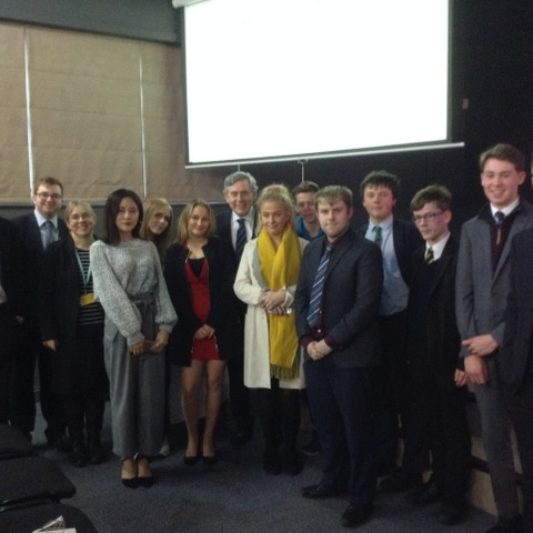 Gordon Brown Talk